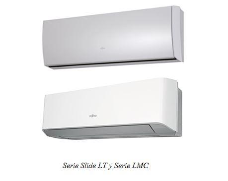 Equipos Split Inverter Serie LT y LMC, de Fujitsu