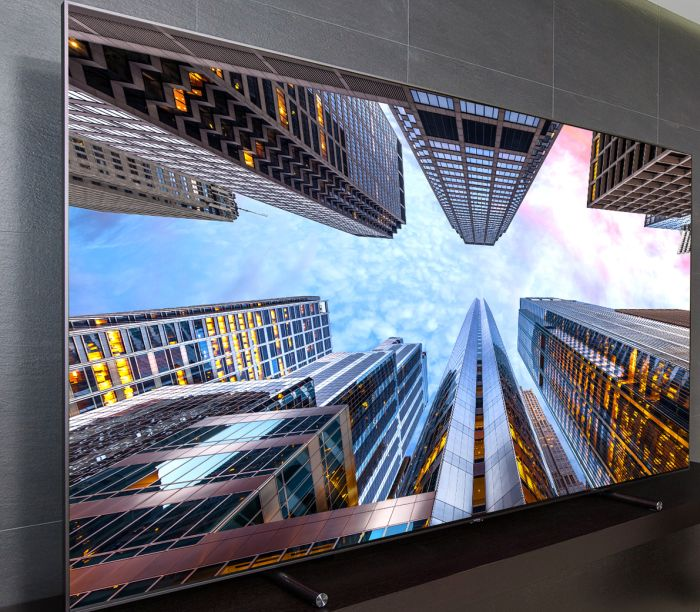 Samsung QLED TV Q9 HDR Quantum Dot No-Gap UHD MU7005