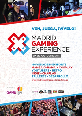 Comienza Madrid Gaming Experience