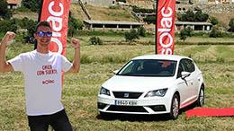 Solac regala un coche para finalizar la conmemoración de sus 100 años