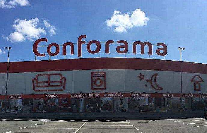 Conforama Pulianas Granada nuevo concepto de tienda reforma integral