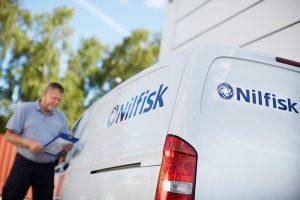 Nilfisk Hans Henrik Lund CEO limpieza profesional