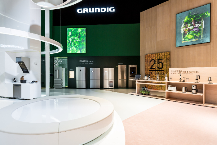 Grundig brilla en la IFA por sus innovaciones sostenibles e inteligentes