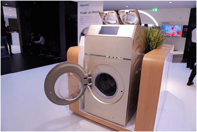 Premiada en IFA una lavadora de Hisense con tres tambores