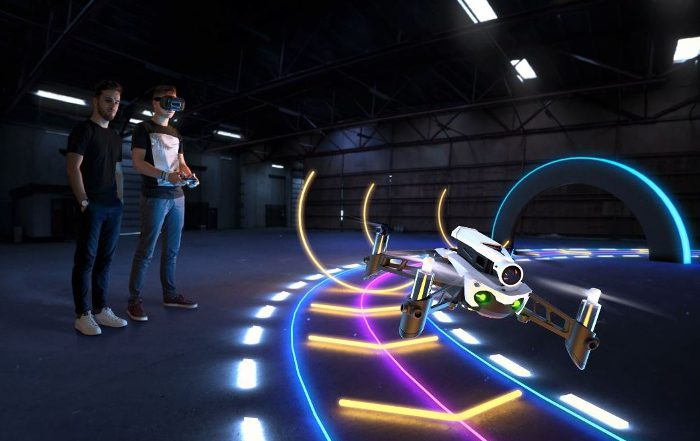 Parrot, Parrot Flypad , cuadricóptero , Cockpitglasses 2 , Parrot Mambo FPV, realidad aumentada, minidrone