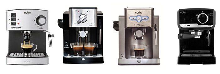 solac, cafeteras espresso, squissita intelligent, squisita new, espresso 19 BAR, café, café cremoso, barista, cafetería, molinillo
