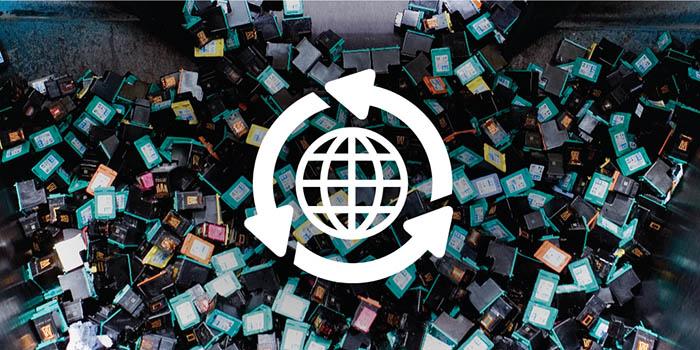 Worten y HP, por el reciclaje de cartuchos de impresoras