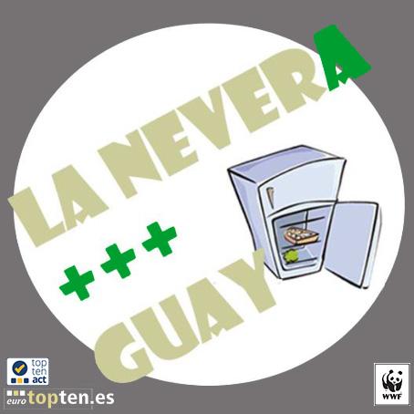La NeverA +++ Guay WWF EuroTopten eficiencia energética frigorífico consumo energético WWF España