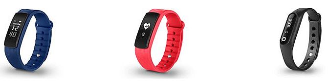 Smartee Active Smartee Active HR Smartee Fit SPC Bluetooth 4.0 BLE función Despertador pantalla capacitiva OLED smartbands wearable