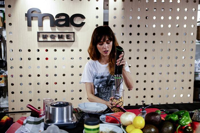 Fnac Home, Leticia Dolera, robot de cocina, batidora, comida sana, electrodomésticos, Tiendas Fnac