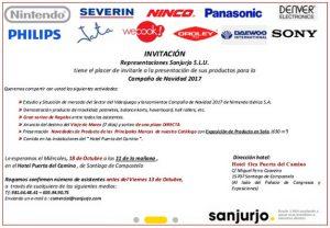 Sanjurjo evento, Santiago, Jata, Panasonic, Nintendo