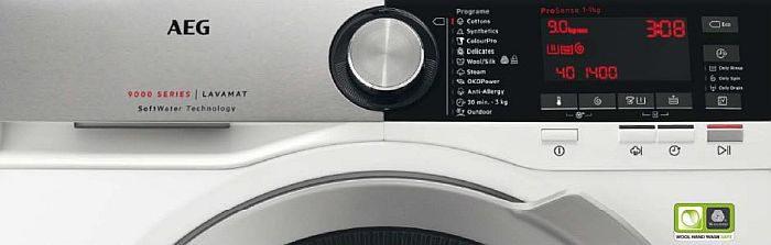 AEG. gama de lavadoras y secadoras de AEG, Altroconsumo (Italia), certificación Woolmark Blue, Consumentengids (Holanda), pruebas de producto, sistema AbsoluteCare, tecnología SoftWater, Test Achat (Bélgica), Which Magazine (Reino Unido).