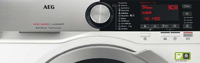 Reconocen a las lavadoras y secadoras de AEG como Best Buy y Best in Test en Europa