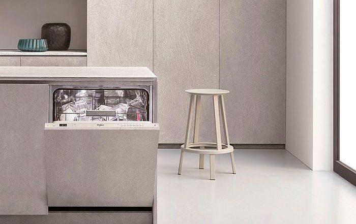 1 Hora Wash & Dry lavavajillas Supreme Clean PowerDry puerta deslizante tecnología 6th Sense tecnología Power Clean Pro Whirlpool