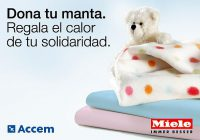 Accem, Campaña del Frío, Día Mundial de las Personas sin Hoga, donación de mantas, Lavapiù, Miele, Miele Experience Center, Programa Municipal de Atención a Personas Sin Hogar del Ayuntamiento de Madrid
