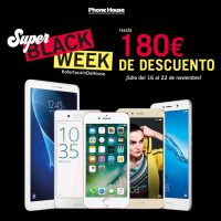 Phone House iPhone 7 32 Gb Sony Xperia X Huawei P10 lite Huawei Y7 Honor 9 Samsung Galaxy Tab A 10 WiFi Súper Black Week Black Friday SmartHouse