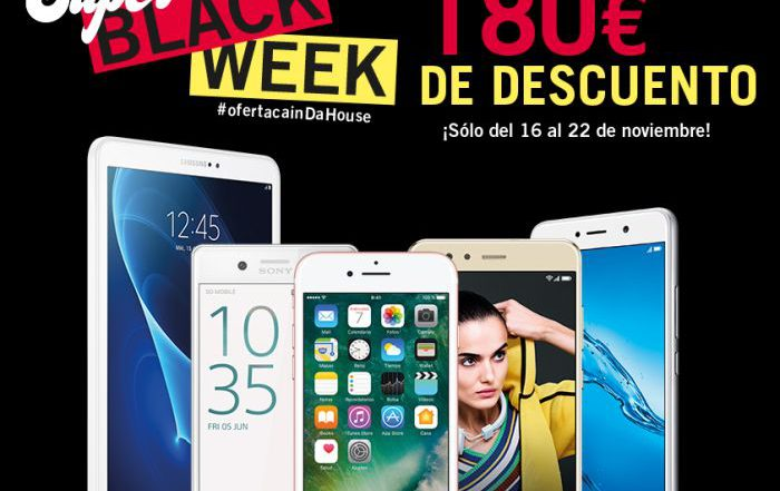 Phone House iPhone 7 32 Gb Sony Xperia X Huawei P10 lite Huawei Y7 Honor 9 Samsung Galaxy Tab A 10 WiFi Súper Black Week Black Friday SmartHouse