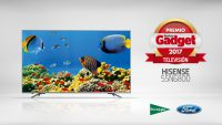 Escalado 4K HDR HDR HLG HDR10 Hisense H55N6800 Local Dimming Premio al Mejor Televisor Gadget 2017 Premios Gadget 2017 tecnología ULED UHD 4K Ultra Color Ultra Contraste Ultra Motion