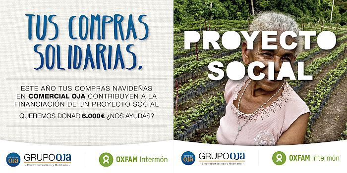 Comercial Oja Intermón OXFAM RSC