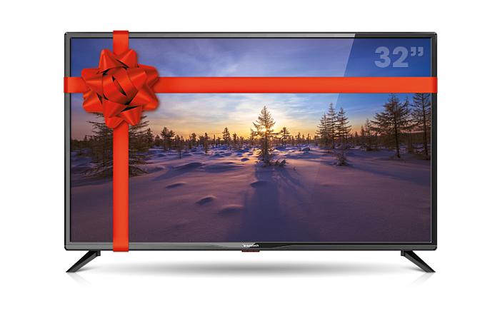 Expert regala televisores durante la campaña de Navidad