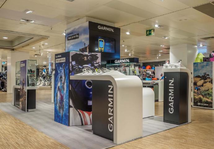 Garmin abre su primera tienda física en España