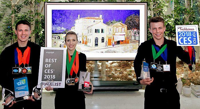LG OLED IA TV, Premio CES 2018 al Mejor Producto de Televisión