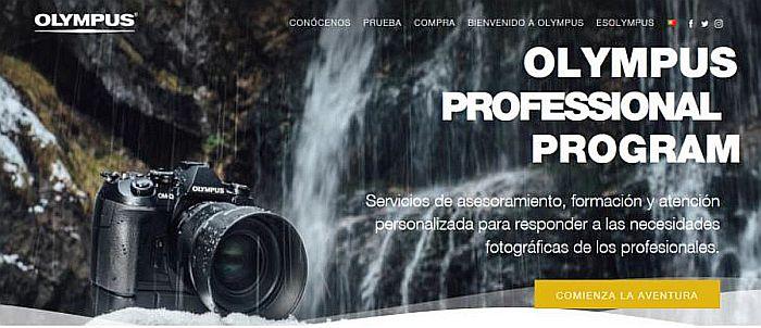 Olympus afianza su apuesta por la fotografía profesional