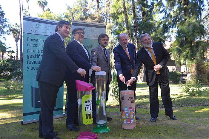 ERP, Ecopilas y Ecolec avanzan en la gestión de RPA en Andalucía