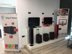 Showroom, Admea, Alcobendas, electrodomésticos