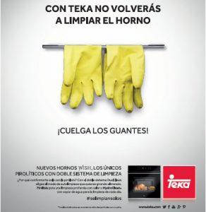 Teka Cuelga los guantes