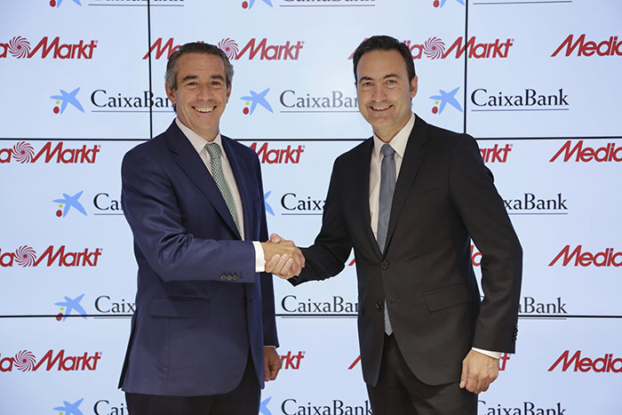 acuerdo caixabank y mediamarkt