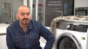 AEG, AEG colección verano 2018 Deseo, Juan Duyos, lavadora L9FEC942, nueva gama de lavado de AEG, Premio L'Oréal, secadora T8DEC866, Semana de la Moda de Madrid, Slow Fashion, tecnología SoftWater —