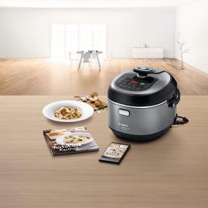 Bosch, amasado planetario 3D, chef profesional, SensorControl Plus, frigorífico Bosch Home Connect, FlavorPrint, multicooker ,tecnología de inducción, cocina, cocina inteligente, AutoCook, OptiMUM,
