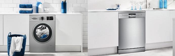 Balay, electrodomésticos, blanco, acero inoxidable, lavavajillas, lavadora, secadora, promoción