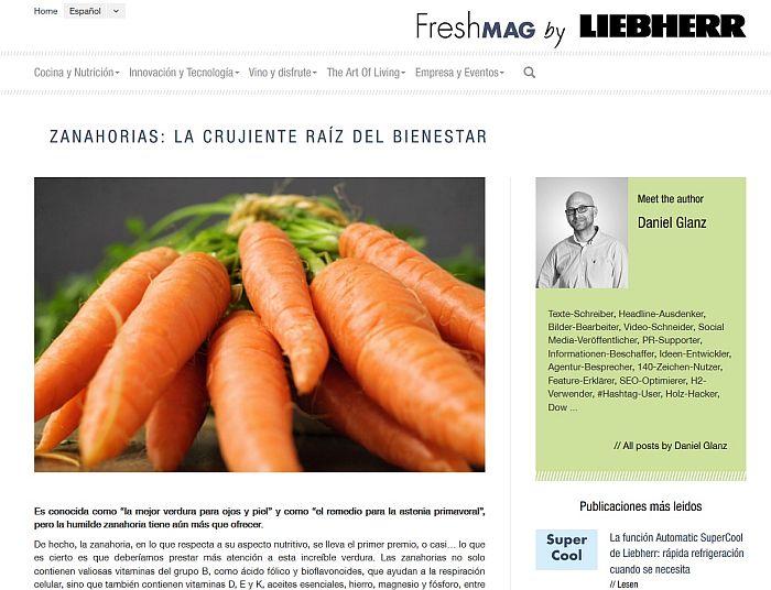 Liebherr Frigicoll The Art of Living Falmec De Dietrich FreshMag branded content gastronomía lifestyle