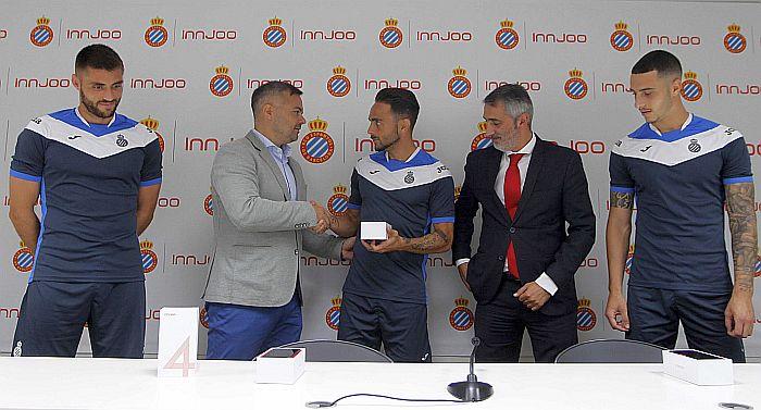 Innjoo RCD Espanyol patrocionio puntos de venta equipaciones originales