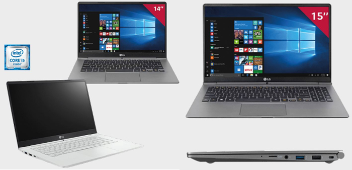 Windows 10, ultraportátil, PC portátil, LG, LG Gram, portátil,