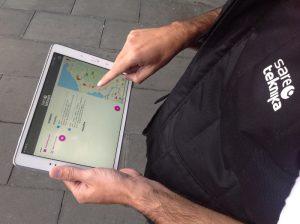 Sareteknika, servicio técnico, tablet, geolocalización,