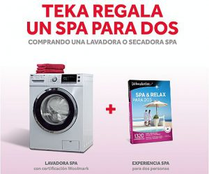 Teka lavadoras Spa Speed Wash Woolmark Tambor Softcare eficiencia energética