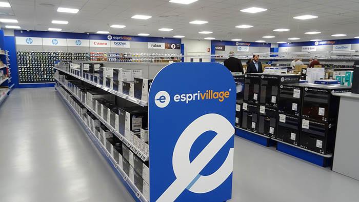 Esprinet, menos de dos horas, Esprivillage Barcelona, Tienda, productos electrónicos, José María García, mayorista tecnológico