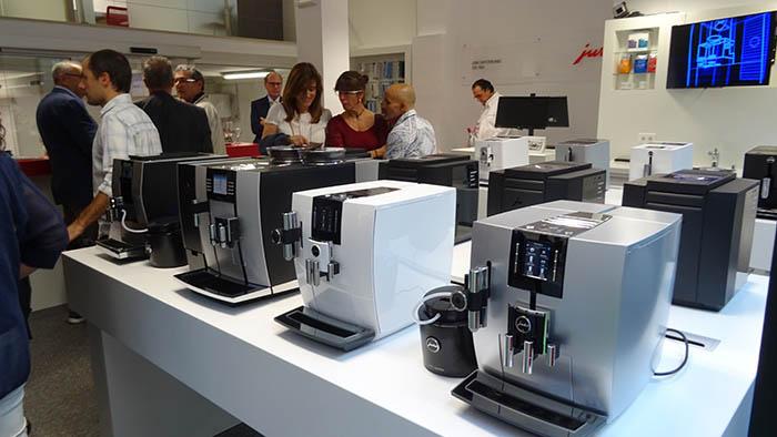 Jura Barcelona Hospitality Center, cafetera, máquina de café Jura, Barcelona, Miquel Arias