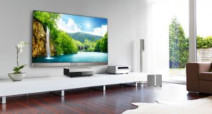 Hisense Láser TV, televisor, Hisense, smart TV, 100 pulgadas, 4K, UHD, Harman, smart TV