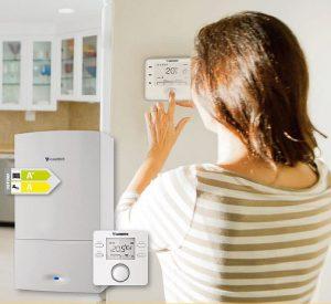 I Barómetro de la Energía de Junkers Internet de las Cosas (IoT) conectividad smartphone climatización conectada calefacción agua caliente sanitaria aire acondicionado emisiones de CO2 y NOx eficiencia energética caldera mural individual