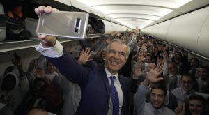 Celestino García, Bienvenido a bordo Galaxy Note8, Samsung, smartphone, Iberia, vuelo IB514, Galaxy Note 8