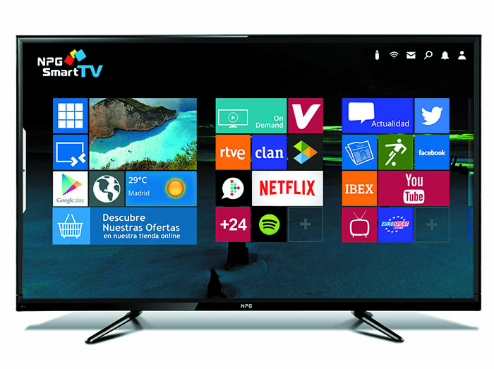 NPG, televisor S500L55U, tercera generación de Smart TV, Android TV, NPG RC 200QM, televisor S500L55U