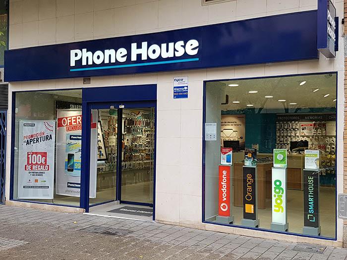 tienda Phone House, Albacete, telefonía móvil, operadoras de telefonía