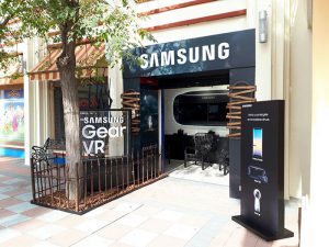 Samsung, Parque Warner Madrid, Showroom, espacio, novedades, wearables, realidad virtual, smartphone, productos, entretenimiento, Halloween
