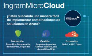 Ingram Micro EasyAzure Microsoft Azure Microsoft Office 365 Dropbox para empresas soluciones de infraestructura en la nube servicios en la nube