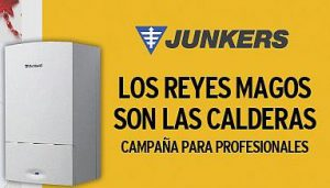 Junkers Bosch Termotecnia caldera de condensación club Junkers plus Cerapur Excellence CerapurExcellence Compact CerapurComfort Cerapur CerapurAcu Smart sistemas solares Los Reyes Magos son las Calderas