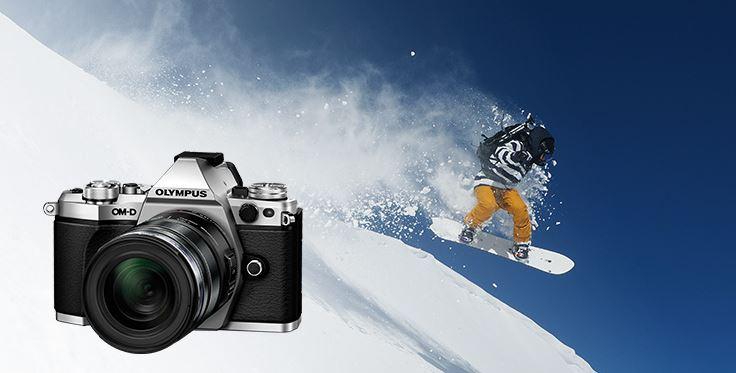 OM-D E-M5 Mark II (body only y kits) M.Zuiko Digital ED 9-18 mm F4.0-5.6 M.Zuiko Digital ED 12 mm F2.0 M.Zuiko Digital 25 mm F1.8 M.Zuiko Digital ED 60 mm F2.8 Macro M.Zuiko Digital ED 75 mm F1.8 M.Zuiko Digital ED 75-300 mm F4.8-6.7 II Olympus Olympus promoción invierno 2017